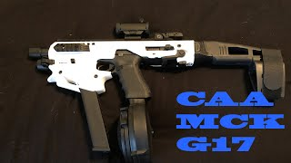 Unboxing of the CAA MCK with Glock G17 New Micro Roni and Bag Contents I Carry It With.