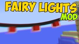 Minecraft Java   STRINGS OF LIGHT   Fairy Lights Mod || Mod Showcase