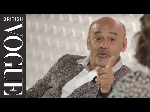Christian Louboutin at the Vogue Festival 2015