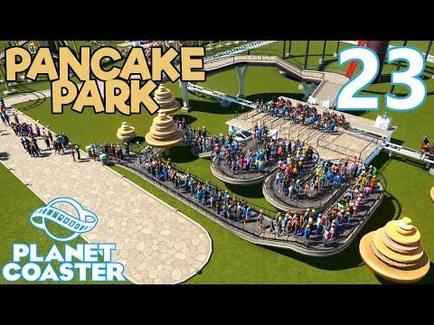Planet Coaster PANCAKE PARK - Part 23 - IT'S 2020