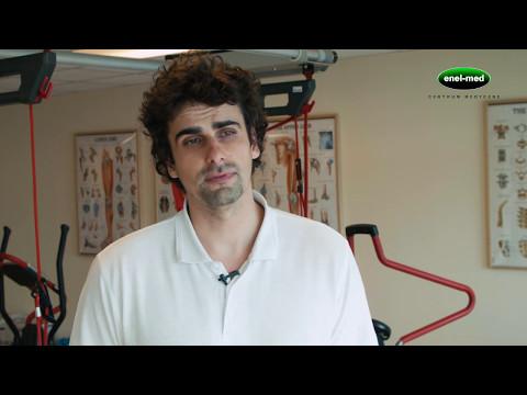 Ból ćwiczenia w filmie szyi