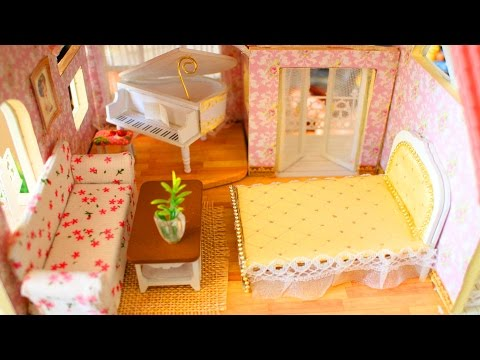 🏡DIY MINIATURE DOLLHOUSE FURNITURE – simplekidscrafts