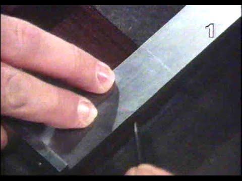 Anreißen und Körnen - Metallbearbeitung