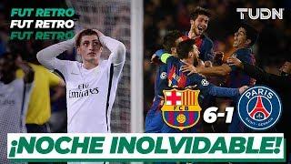 Fut Retro: ¡Mágico! ¡Voltereta blaugrana! | Barcelona 6 - 1 PSG - Champions league 2017 | TUDN