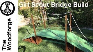 DIY Girl Scout Bridge!