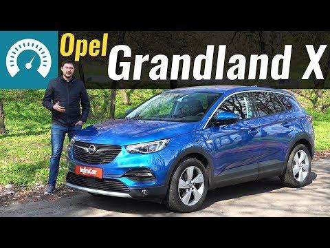 Opel  Grandland X Кроссовер класса J - тест-драйв 1