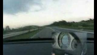 Mercedes Benz E55 AMG 0-300km/h