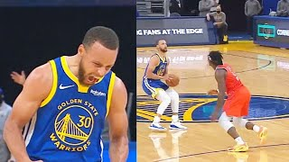 Stephen Curry Goes CRAZY After Taking Over With 49 Points In 3 Quarters! Warriors vs Thunder