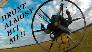 Getting chased by a 100 MPH RACE DRONE!