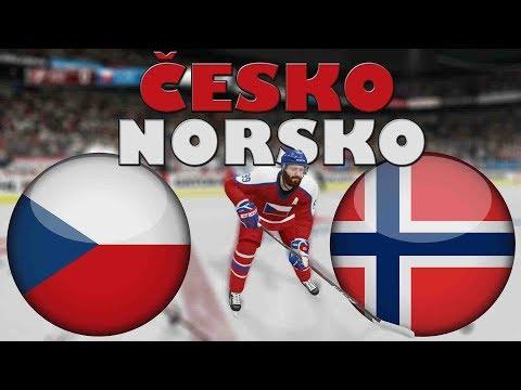 ČESKO - NORSKO | MS 2019 | NHL 19 | CZ/SK