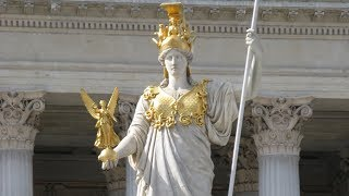 War on the Whore-rising? Athena's statue at the UN!