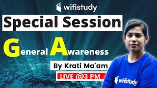 3:00 PM - Special Session   GA by Krati Ma'am
