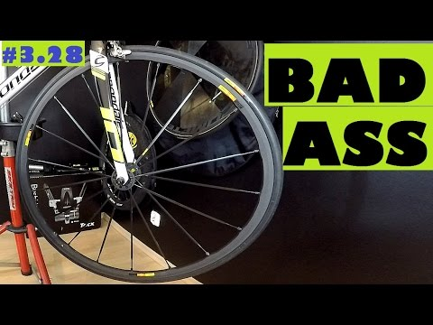 Bad Ass road bike wheels – Mavic Ksyrium SLR. Cycling Is Cool! Review