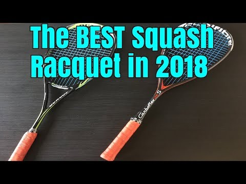The BEST Squash Racquets in 2018 for Beginners, Intermediate and Advanced Players