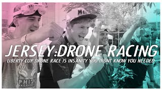Liberty Cup Drone Racing - FPV whoop, toothpick, twigs and lots of crashes in New Jersey.