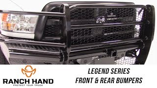 In the Garage™ with Total Truck Centers™: Ranch Hand Legend Series Front and Rear Bumpers