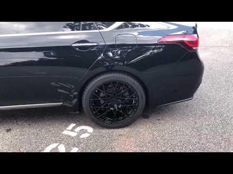 "Hyundai Genesis Sedan on 19"" TSW Sebring Wheels"