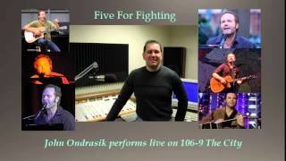 Five For Fighting - America Town performed live by John Ondrasik