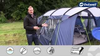 Outwell Tent Whitecove 6 - 2014 | Innovative Family Camping