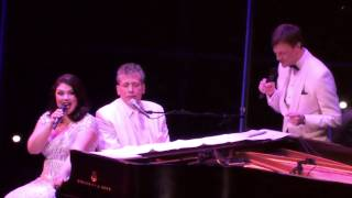 """Gotta Have Me Go With You"" - Jane Monheit, Billy Stritch, Jim Caruso, Clarke Thorell"