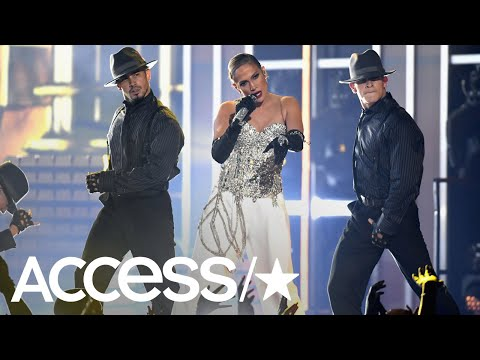 c1e235d72fe Jennifer Lopez Delivers Debut Performance Of  Dinero  At 2018 Billboard  Music Awards