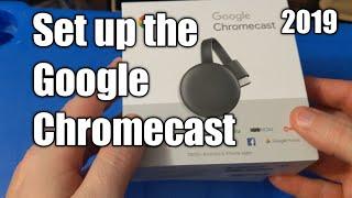 How to Set up Google Chromecast 2019