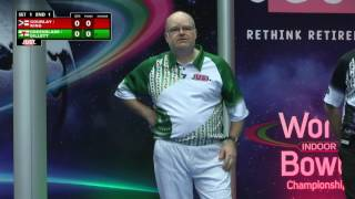 World Indoor Bowls Championship 2017: January 16th Afternoon Session