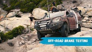 Off Road 4WD Brake test
