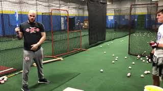 Stop Pulling Off The Baseball with this Drill