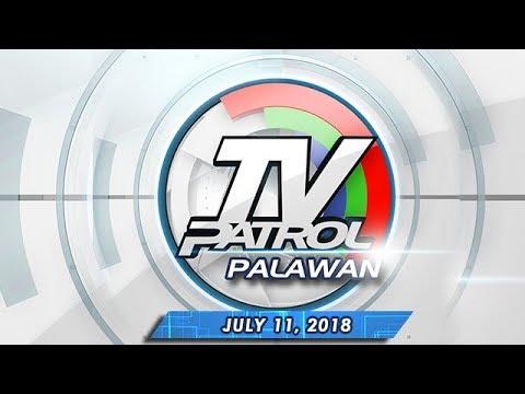 [ABS-CBN]  TV Patrol Palawan – July 11, 2018