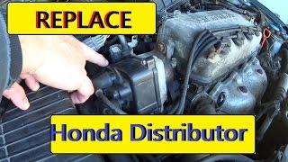 99 Honda Civic distributor replacement P1381