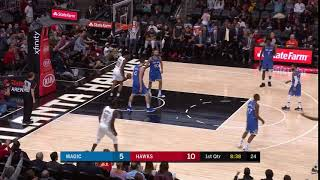 1st Quarter, One Box Video: Atlanta Hawks vs. Orlando Magic