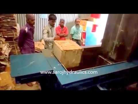Triple Action Baling Press Machine