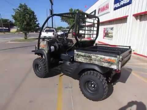 2019 Kawasaki Mule SX 4X4 XC Camo FI in Wichita Falls, Texas - Video 1