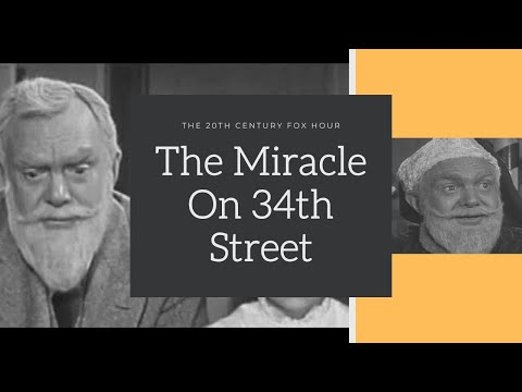 The Miracle on 34th Street (1955) - The 20th Century Fox Hour