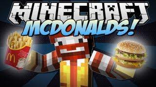 Minecraft | McDONALDS! (Eat McDonalds in Minecraft!) | Mod Showcase [1.6.2]