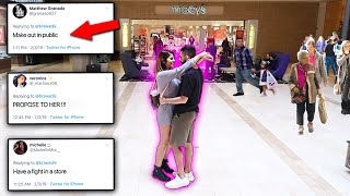 WE LET YOU GUYS CONTROL OUR LIFE! EX-COUPLE CHALLENGE!