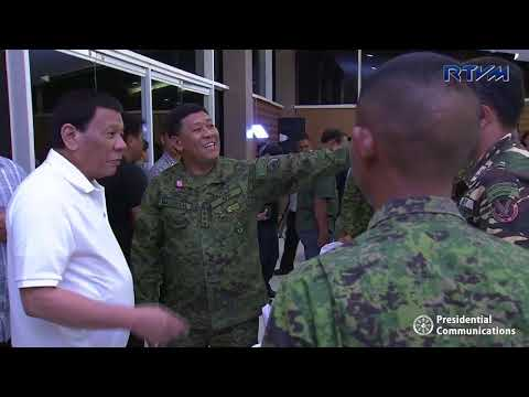 [RTVM]  Dinner with Selected Armed Forces of the Philippines Commanders and Personnel  6/8/2018