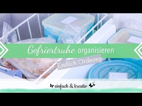 Gefriertruhe aufräumen und organisieren   einfach & organisiert