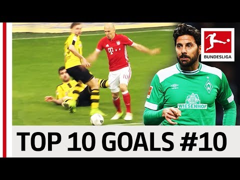 Robben, Diego, Calhanoglu & Co. - Top 10 Best Goals - Players with Jersey Number 10