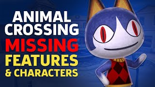 Missing Characters, Features, And Buildings In Animal Crossing New Horizons