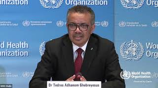 Live from WHO Headquarters   coronavirus   COVID 19 daily press briefing 25 March 2020