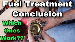 Fuel Treatment Experiment CONCLUSION! Do They Work??
