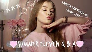 Summer Eleven Q & A ♡ Alice Ziolkoski