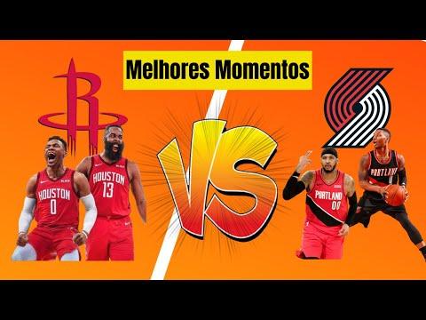 Melhores Momentos HOUSTON ROCKETS vs PORTLAND TRAIL BLAZERS (04 08 2020) – NBA