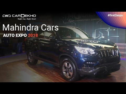 Mahindra at Auto Expo 2018 | #First2Expo | e-KUV 100, Stinger, Rexton