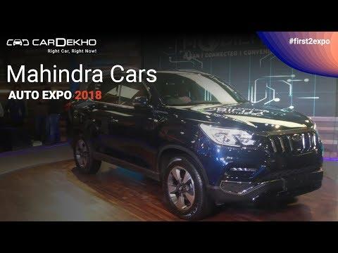 Mahindra at Auto Expo 2018 | #First2Expo | e-KUV 100, Stinger, Rexton