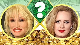 WHO'S RICHER? - Dolly Parton or Adele? - Net Worth Revealed! (2017)