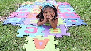 ABC Song | Sophia Pretend Play Learning Alphabet | Nursery Rhymes Songs