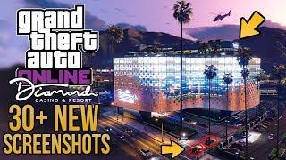 GTA Online: The Diamond Casino & Resort 30+ NEW SCREENSHOTS! Casino Chips, Horse Racing, VIP & MORE!